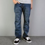 Pants AVANGARDE blue / normal fit