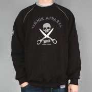 Sweatshirt SKULL black << HIT >>