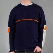 Sweater Malita SQR navy<< HIT >>