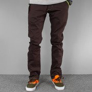 Pants  CHINO dark chocolate NEW slim fit