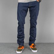 Pants STRIPES medium blue jeans NEW slim fit