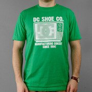T-shirt DC Logo green
