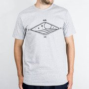 T-shirt Malita Diamond heathergrey