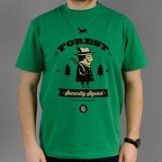 T-shirt Malita Forest green