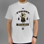 T-shirt Malita Forest white