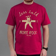 T-shirt Malita Less Talk bordo