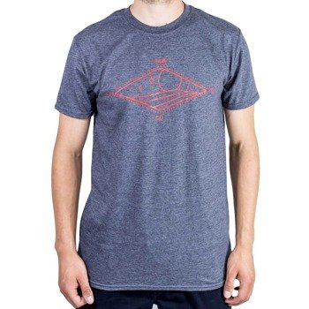 T-shirt Malita TDiamond heather navy