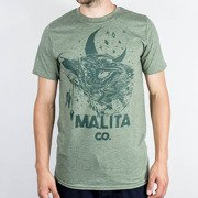 T-shirt Malita Wolf heather green