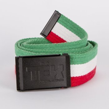 Pasek Teknik Classic green/white/red